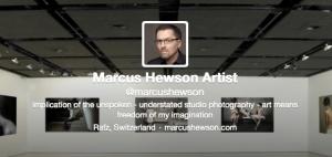 marcus hewson on twitter